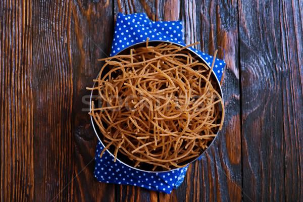 brown pasta Stock photo © tycoon