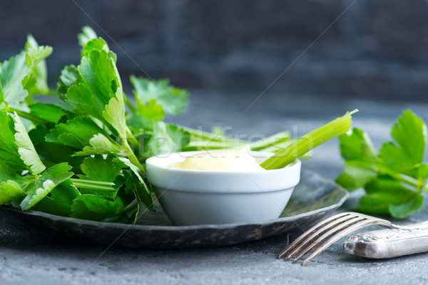 Céleri sauce fraîches bol stock photo Photo stock © tycoon