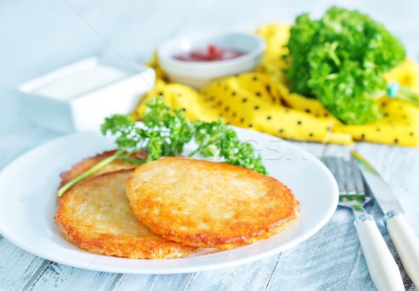 potato pancakes Stock photo © tycoon