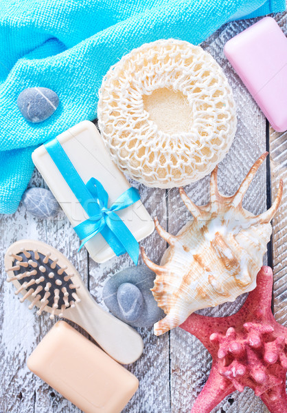 Stock photo: objects for bath