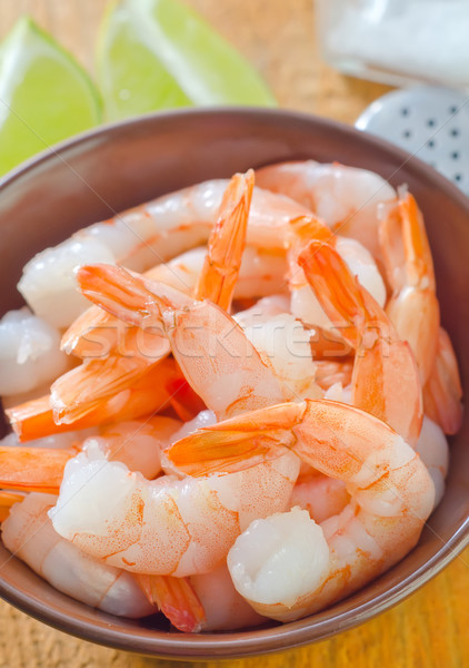Hal narancs piros tányér citrom fehér Stock fotó © tycoon