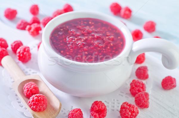 raspberry and jam Stock photo © tycoon