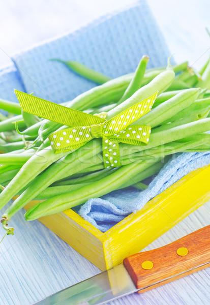 green beans Stock photo © tycoon