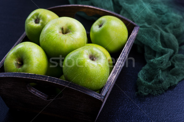 crop of apples Stock photo © tycoon