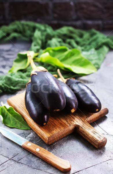 茄子 生 表 在庫 写真 食品 ストックフォト © tycoon
