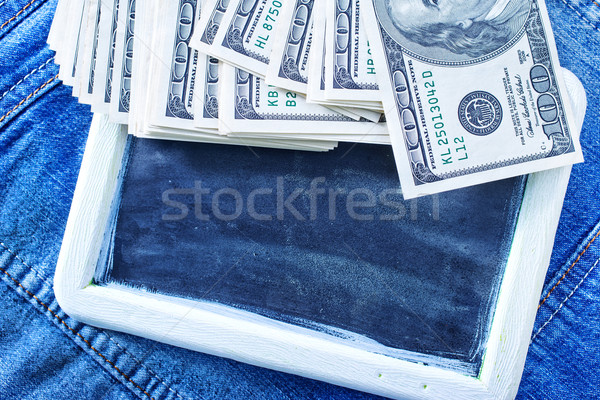 ビジネス お金 時間 黒 雲 ボード ストックフォト © tycoon