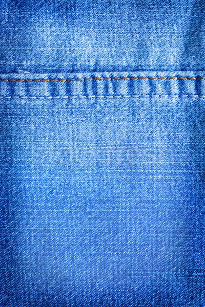 ストックフォト: ジーンズ · ファッション · 背景 · ファブリック · ヴィンテージ · 布
