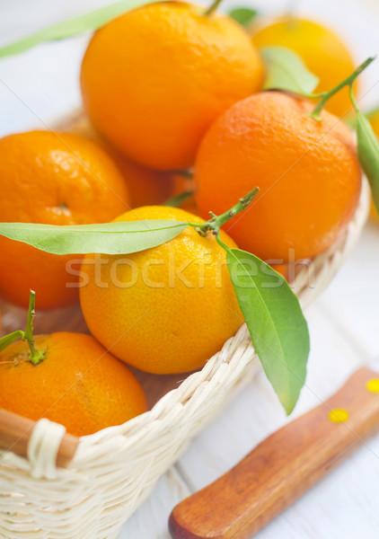 Printemps alimentaire nature fruits fond été Photo stock © tycoon