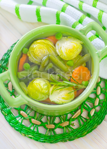 vegetarian soup Stock photo © tycoon