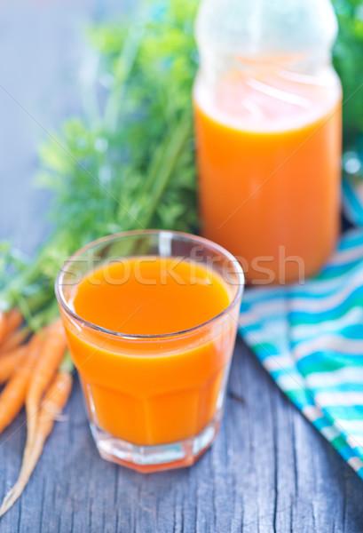 Fresche vetro tavola alimentare salute Foto d'archivio © tycoon
