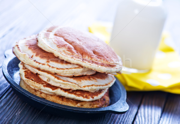 sweet pancakes Stock photo © tycoon