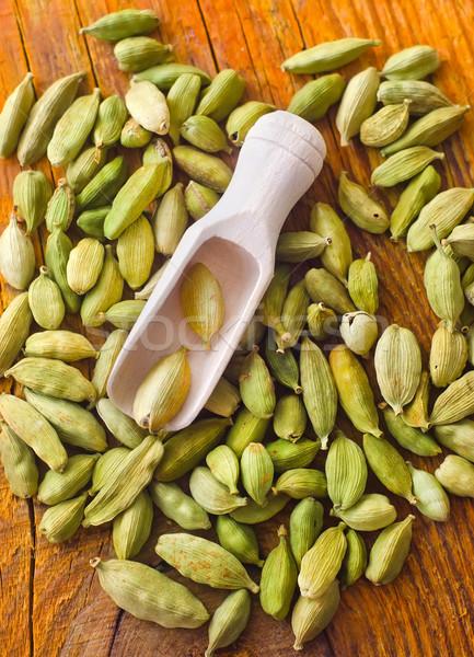 Száraz aroma fa deszka étel fa zöld Stock fotó © tycoon