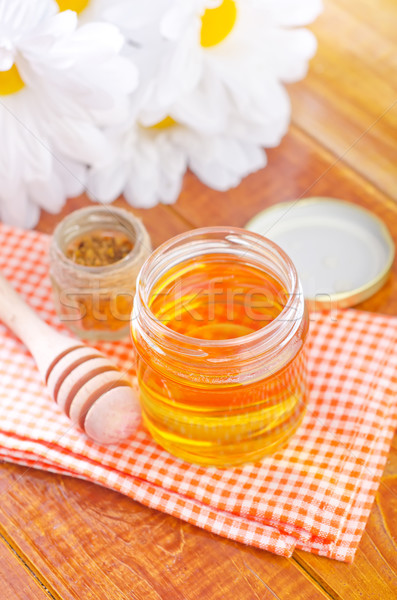 Mel flor saúde medicina margarida copo Foto stock © tycoon