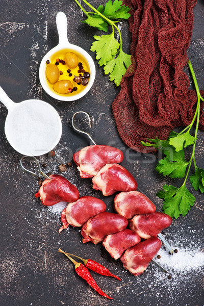 duck hearts Stock photo © tycoon