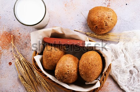 wheat bans Stock photo © tycoon