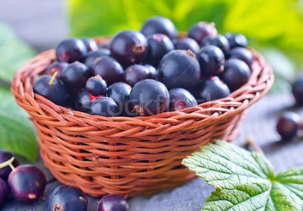 Stock photo: fresh berries