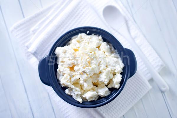коттедж кухне сыра молоко пластина темно Сток-фото © tycoon