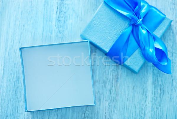 Stock photo: box for present