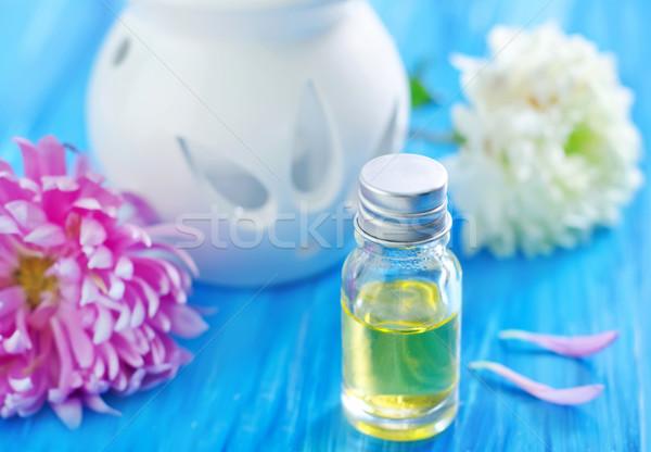 Aroma olie bloemen natuur lichaam gezondheid Stockfoto © tycoon