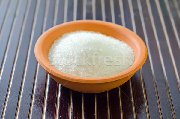 Cukor étel cukorka kövér fehér desszert Stock fotó © tycoon