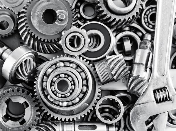 metal gears and bearings Stock photo © tycoon
