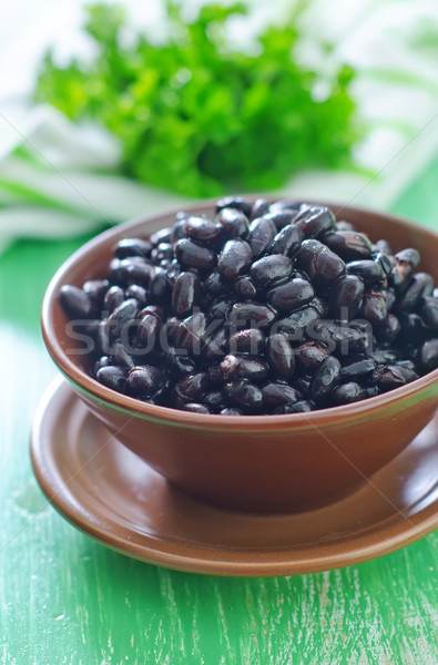 black bean Stock photo © tycoon