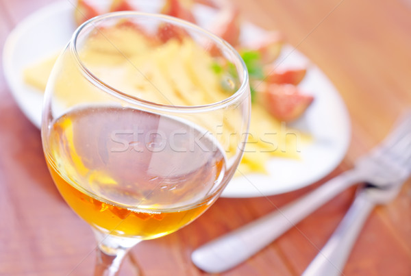 wine and cheese Stock photo © tycoon