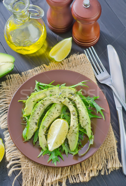 salad with avocado Stock photo © tycoon