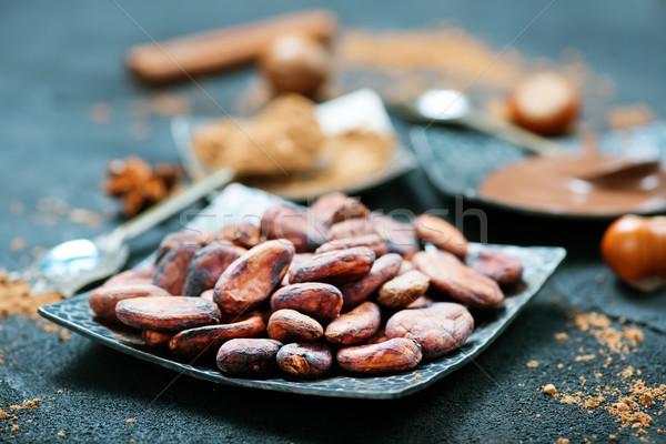 プレート 在庫 写真 フルーツ チョコレート ストックフォト © tycoon