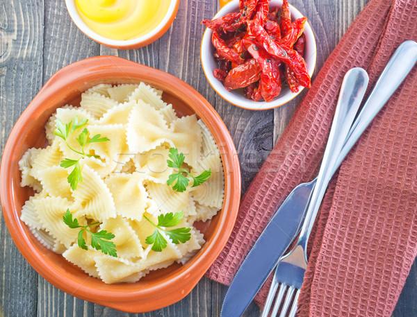 パスタ テクスチャ 食品 背景 緑 ストックフォト © tycoon