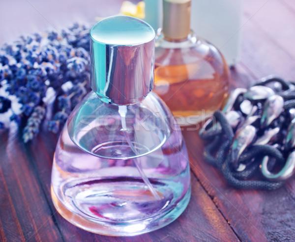Perfum kobiet ciało szkła butelki kobiet Zdjęcia stock © tycoon