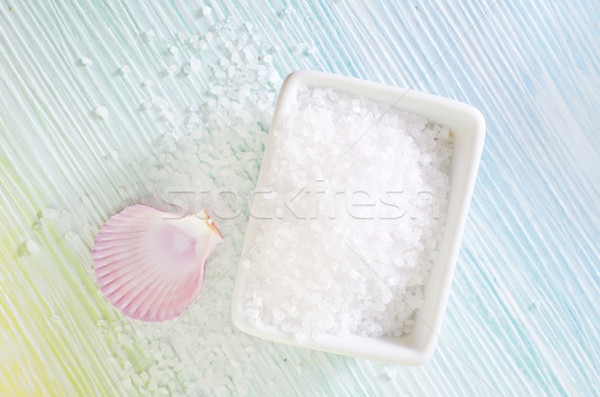 Sal do mar conchas corpo mar beleza verde Foto stock © tycoon