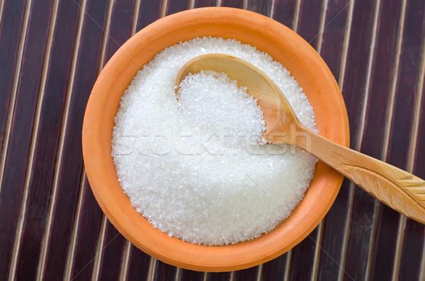 şeker gıda şeker yağ beyaz tatlı Stok fotoğraf © tycoon