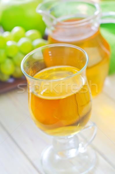Fresco suco madeira maçã fruto verão Foto stock © tycoon