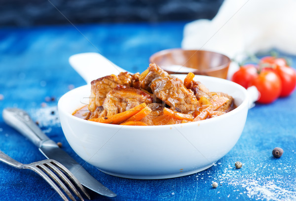 meat stew Stock photo © tycoon