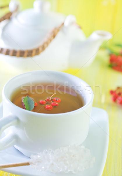 Taze çay tablo su doğa Stok fotoğraf © tycoon