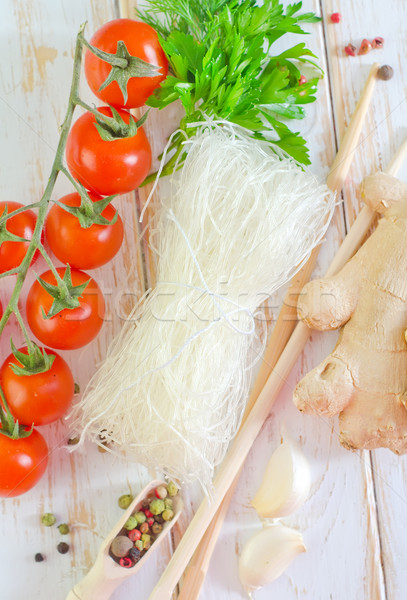 rice noodles Stock photo © tycoon
