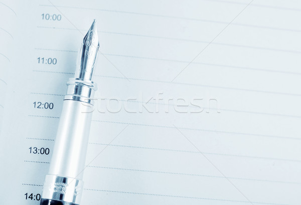 note and pen Stock photo © tycoon