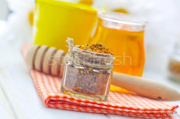 Pollen and honey Stock photo © tycoon