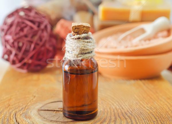 Óleo grama corpo beleza medicina Foto stock © tycoon