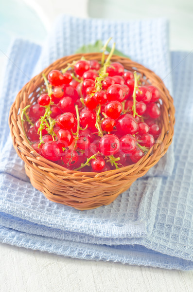 red currant Stock photo © tycoon