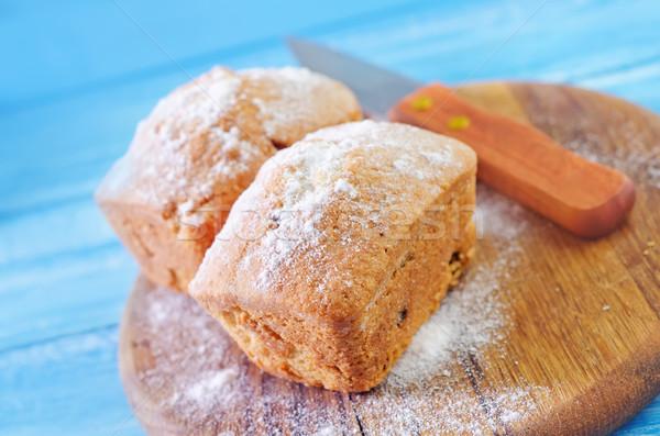 édes sütés torta étel háttér kenyér Stock fotó © tycoon