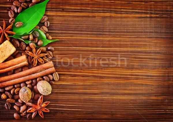 coffee backgrounds Stock photo © tycoon