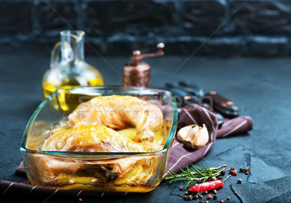 De pomme de terre bol table design poulet for Table 52 fried chicken recipe