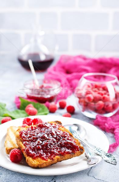 toasts with jam Stock photo © tycoon
