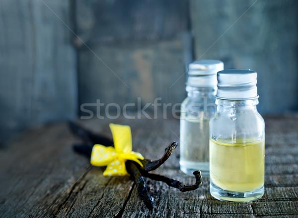 Сток-фото: аромат · нефть · стекла · чаши · таблице · цветок