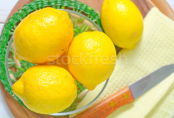 Zdjęcia stock: świeże · cytryny · żywności · zdrowia · zimą · soku