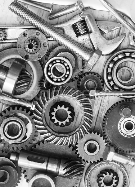 supplies for  industrial, nuts and bolts Stock photo © tycoon