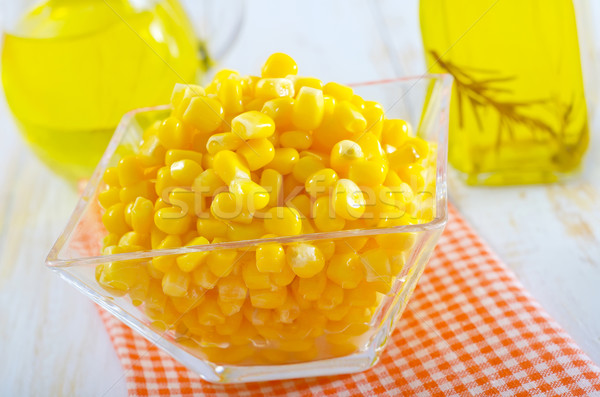 sweet corn for salad Stock photo © tycoon