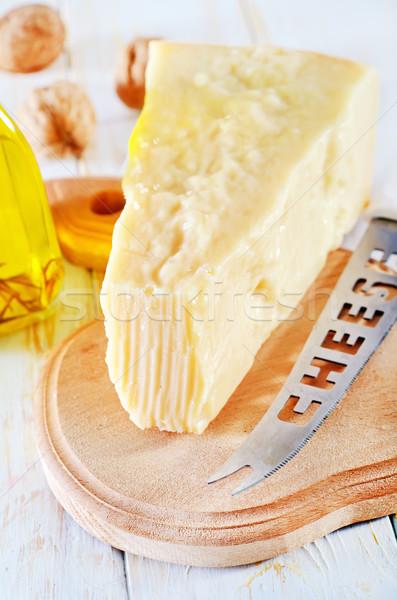 Parmesano mesa leche cena cocina almuerzo Foto stock © tycoon
